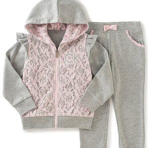 Calvin Klein márkás babaruha kislány melegítő szett