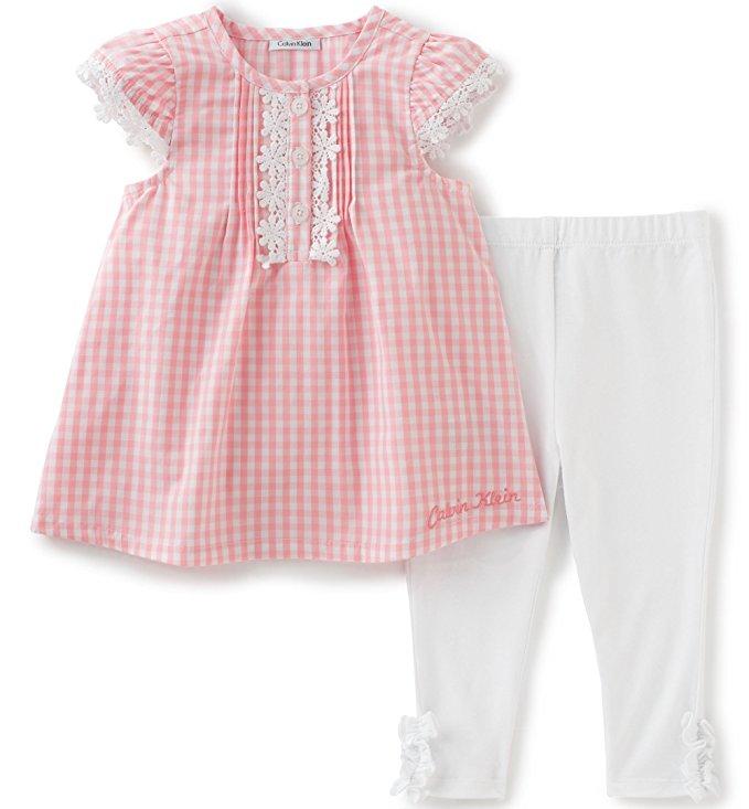 Calvin Klein márkás babaruha kislány kétrészes együttes b64b0afb4b