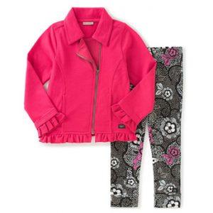 Calvin Klein márkás babaruha kislány kétrészes együttes őszi kabát