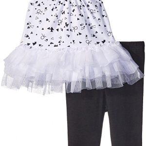 Calvin Klein márkás babaruha kislány együttes tunika és leggings