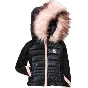 Michael Kors márkás babaruha, kislány őszi szteppelt kabát