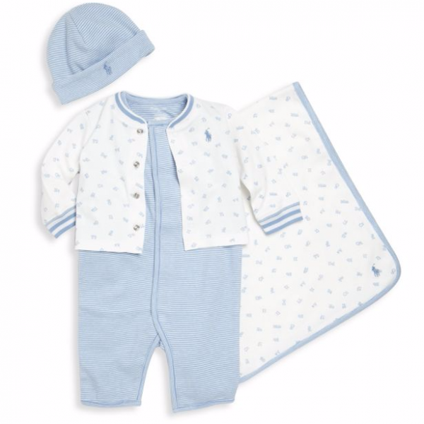 Ralph Lauren márkás babaruha ajándék szett