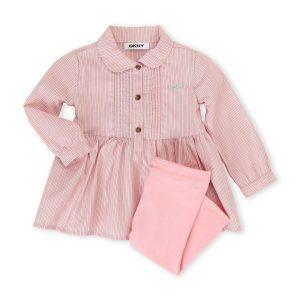 Új DKNY márkás babaruha kislány szett