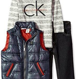 Calvin Klein márkás babaruha kisfiú , háromrészes együttes