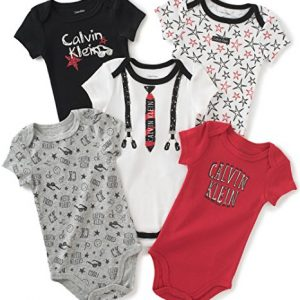 Calvin Klein márkás babaruha 5 darabos body csomag