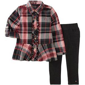 Tommy Hilfiger márkás babaruha kétrészes szett inggel