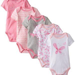 Új, címkés Calvin Klein márkás babaruha, kislány body szett.