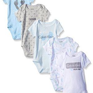 Új, eredeti, címkés Calvin Klein márkás babaruha, kisfiú body szett