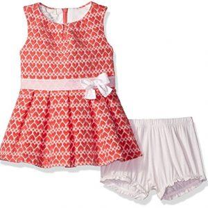 Új, eredeti, címkés Guess márkás babaruha, kislány ruha + bugyi