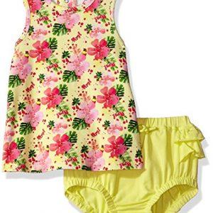 Új, eredeti, címkés Guess márkás babaruha, kislány ruha bugyival.