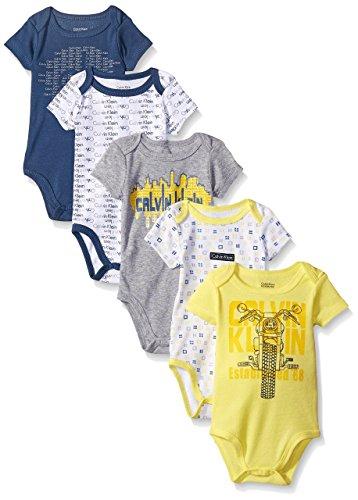 576f008def Új, címkés Calvin Klein márkás babaruha, kisfiú body szett.