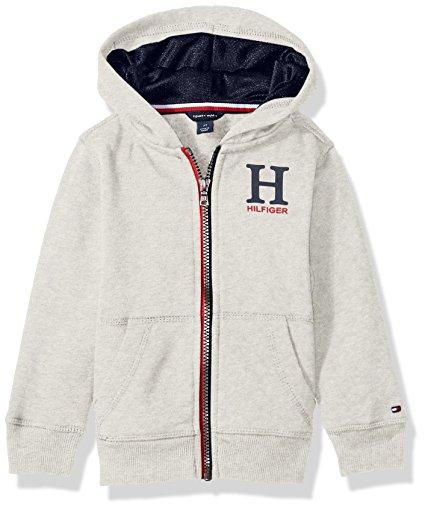 Új, eredeti, címkés Tommy Hilfiger gyermekruha, kisfiú kapucnis pulóver