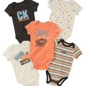 Új, címkés Calvin Klein márkás babaruha, kisfiú body szett.