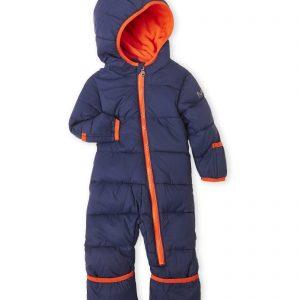 Új, címkés, eredeti Michael Kors márkás babaruha kisfiú téli kapucnis overál