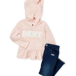Új, eredeti, címkés DKNY baba és gyerekruha, kétrészes szett
