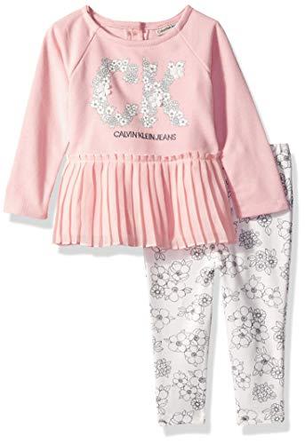 303d6fabe9 Új, eredeti, címkés Calvin Klein babaruha, kislány kétrészes szett.