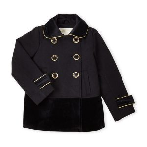 Új, eredeti, címkés Michael Kors márkás gyerekruha, kislány szövetkabát.