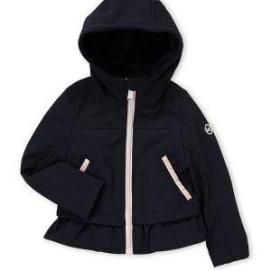 Új, eredeti, címkés, Michael Kors márkás gyerekruha, kislány softshell kabát.