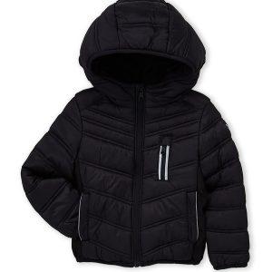 Új, eredeti, címkés Michael Kors márkás gyerekruha, kisfiú pufikabát