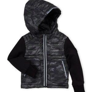 Új, eredeti, címkés Michael Kors márkás gyerekruha, kisfiú őszi kabát.