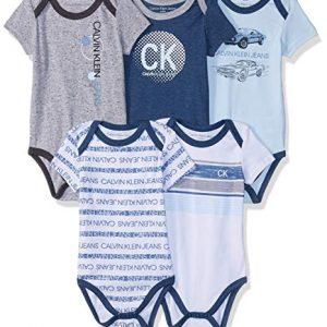 Új, címkés Calvin Klein márkás babaruha, kisfiú body szett