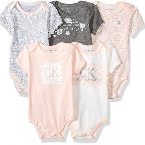 Új, címkés Calvin Klein márkás babaruha, kislány body szett
