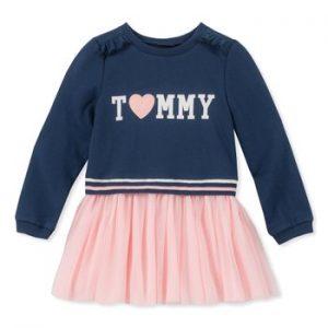 Új, címkés Tommy Hilfiger gyerekruha, kislány pulcsiruha