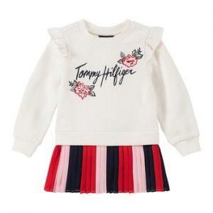Eredeti, új, címkés Tommy Hilfiger márkás babaruha, kislány pulcsiruha