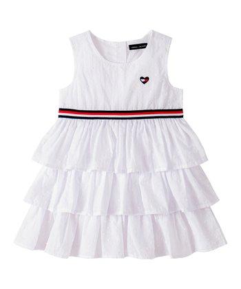 Új, eredeti, márkás Tommy Hilfiger gyerekruha, kislány nyári ruha